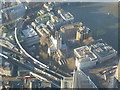 TQ3280 : Southwark Cathedral seen from The Shard by Marathon