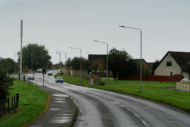 Pedestrian Traffic Lights on Kilmarnock Road
