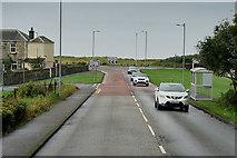 NS3232 : Kilmarnock Road nearing Barassie Beach by David Dixon