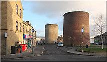 SE1316 : Ventilation Shafts, Springwood, Huddersfield by habiloid