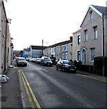 SS7597 : East along The Ropewalk, Neath by Jaggery