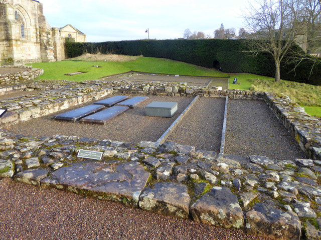 Jedburgh Abbey ruins