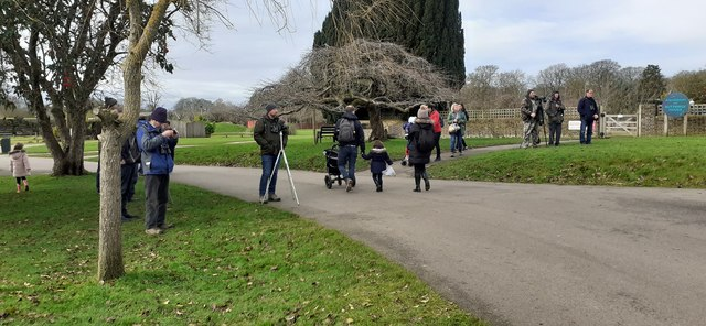 Twitchers at Whipsnade Zoo