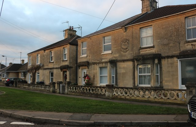 Houses on Cleevedale Road, Corsham