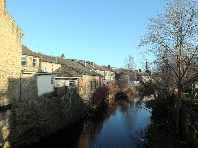 River Colne, Milnsbridge