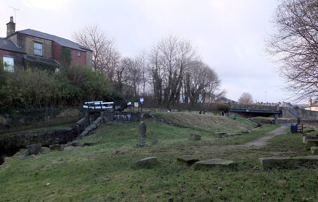 Milnsbridge Wharf, Huddersfield Narrow Canal