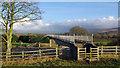 SD5051 : Nans Nook footbridge by Ian Taylor