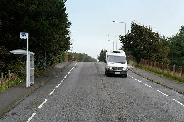 Bus Stop on Craigend Road