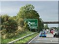 NS3628 : Bridge over the A77 near Monkton by David Dixon