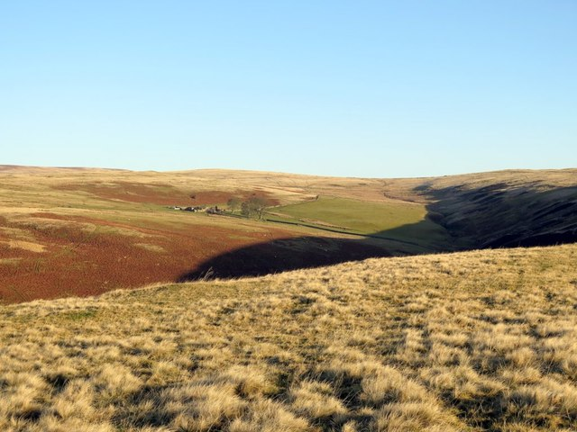 Old Rookland from Clennell Hill