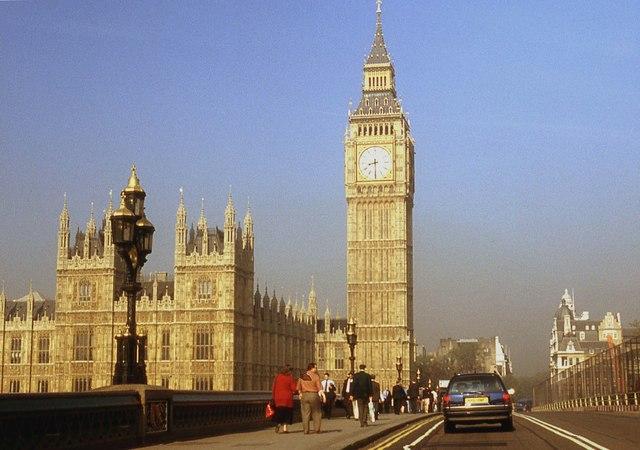 Big Ben from Westminster Bridge
