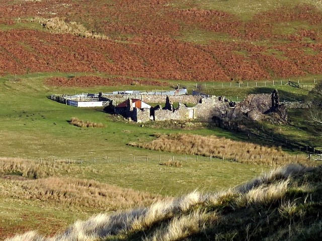 Old Rookland from slopes of Silverton Hill