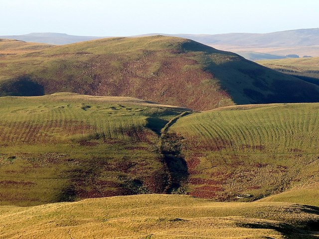 Iron Age settlements by Clennell Street from Silverton Hill