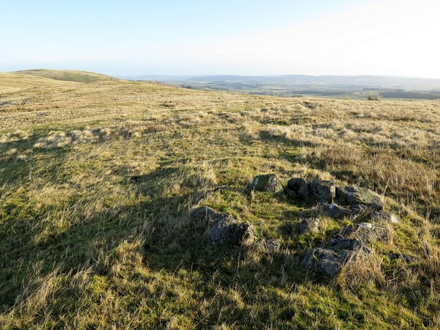 Small cairn on Silverton Hill