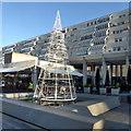 TQ3082 : Brunswick Square Christmas decoration by Robert Eva