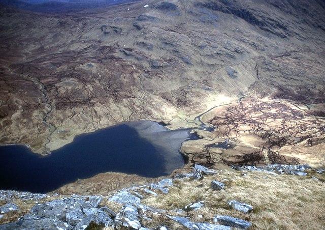 The head of Loch a' Choire Mhòir