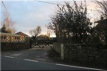ST8768 : House entrance on Gastard Road by David Howard