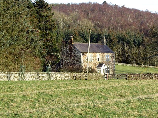 House north of Clennell Hall Farm