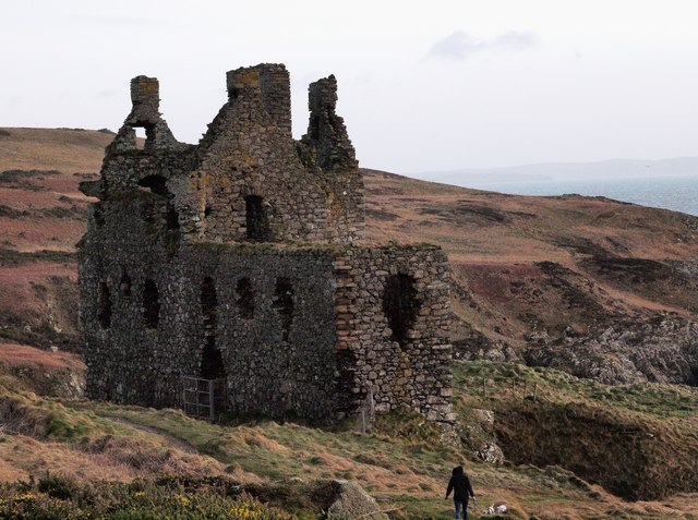 Remains of Dunskey Castle