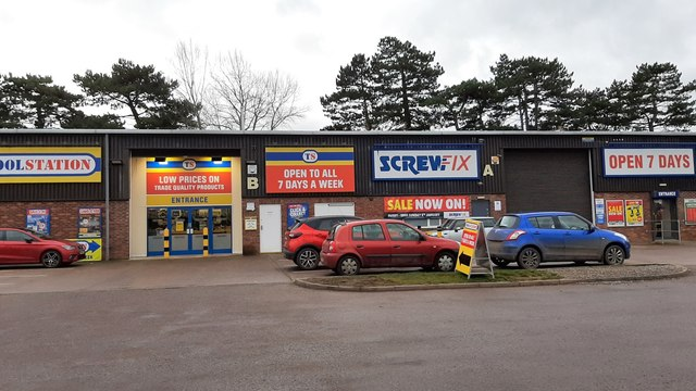 Screwfix/Toolstation, Ross-on-Wye