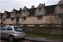 ST8770 : Almshouses on Lacock Road, Corsham by David Howard