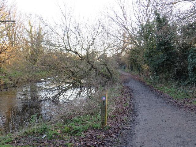 Wandle Trail near St Helier