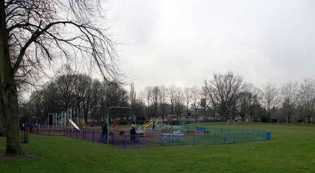Playground, Crow Nest Park, Dewsbury