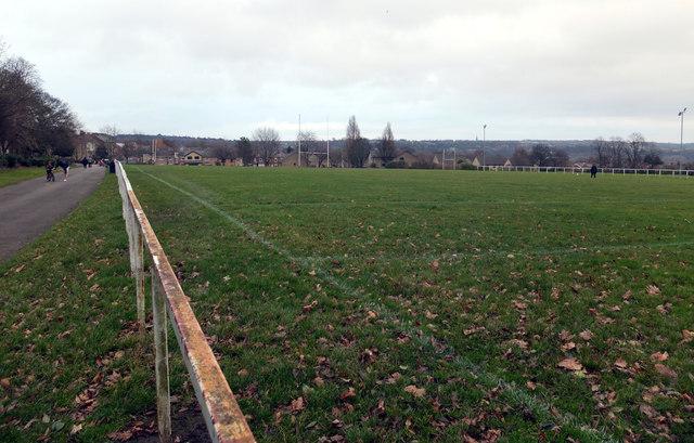 Rugby pitch, Crow Nest Park, Dewsbury