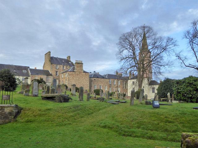 Graveyard, Jedburgh Abbey