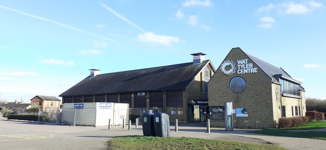 Visitor centre, Wat Tyler Country Park