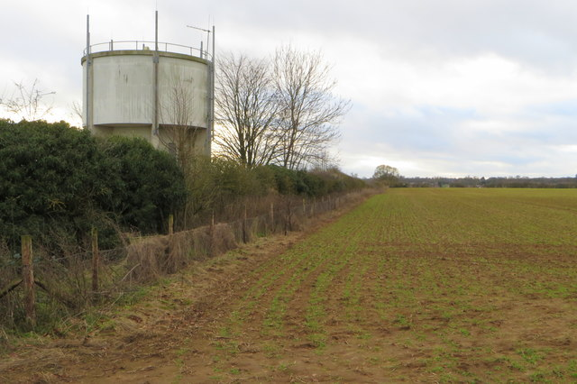 Ecton water tower