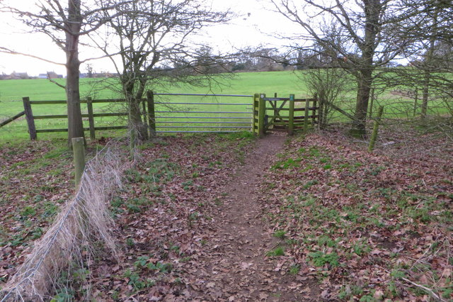 Footpath into Ecton
