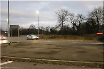 ST8972 : Roundabout on the A4 entering Chippenham by David Howard