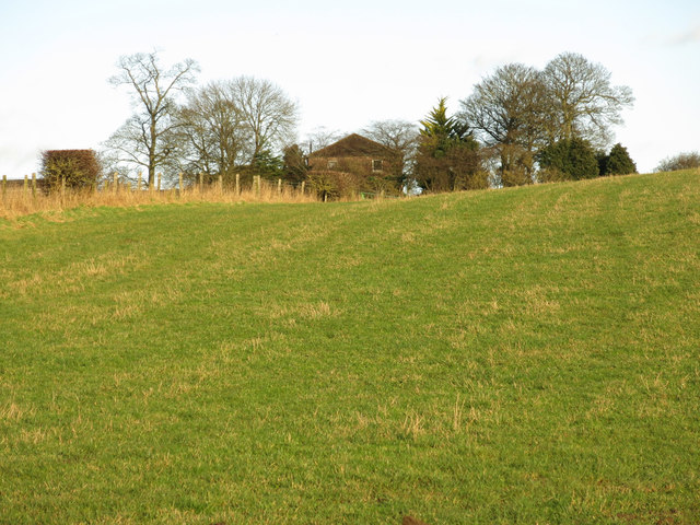 Farmland below East Ketton