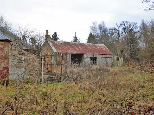 Disused shed, Bowmont Forest