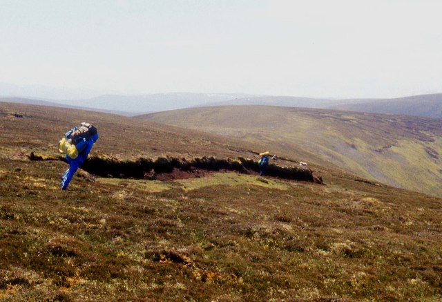 A Northwesterly gale buffets the Ladder Hills