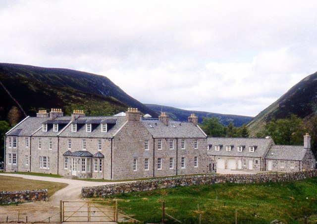 A substantial shooting lodge, Inchrory