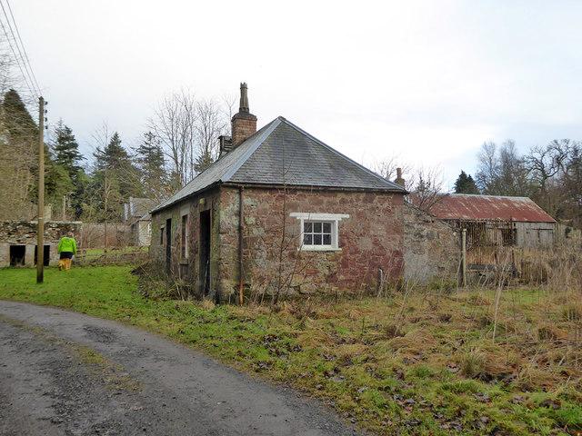 Building, Bowmont Forest