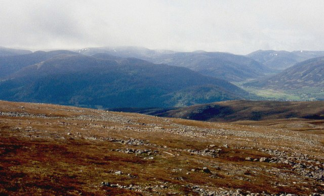Ridge to Meikle Elrick and Braemar