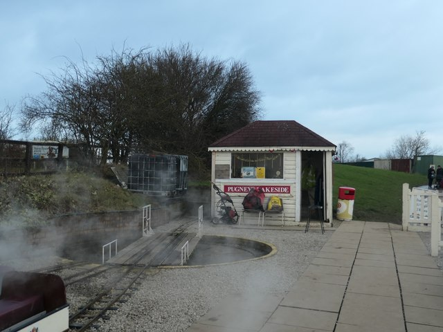 Turntable, Lakeside Station, Pugneys Country Park