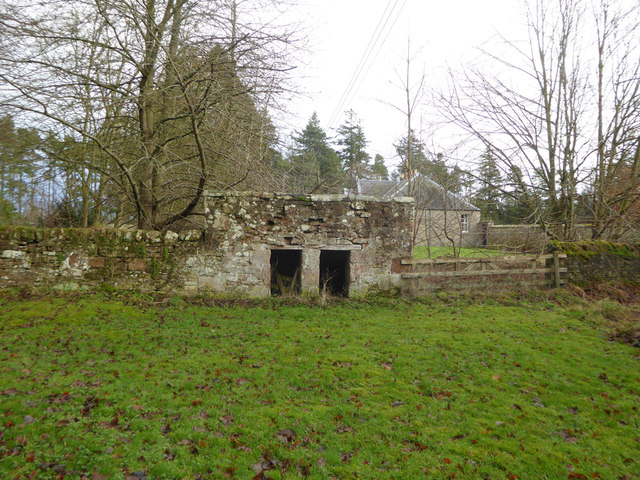 Disused small building, Bowmont Forest