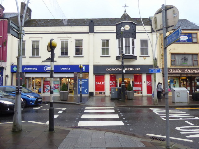 Boots / Dorothy Perkins / Kelly Chemists, Omagh