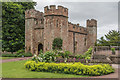 SS9943 : The Great Gatehouse, Dunster Castle by Ian Capper