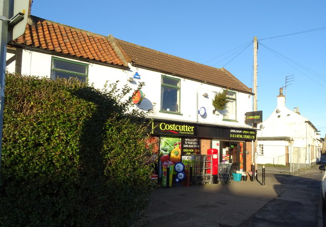 Post Office and shop on Church Lane, Skirlaugh