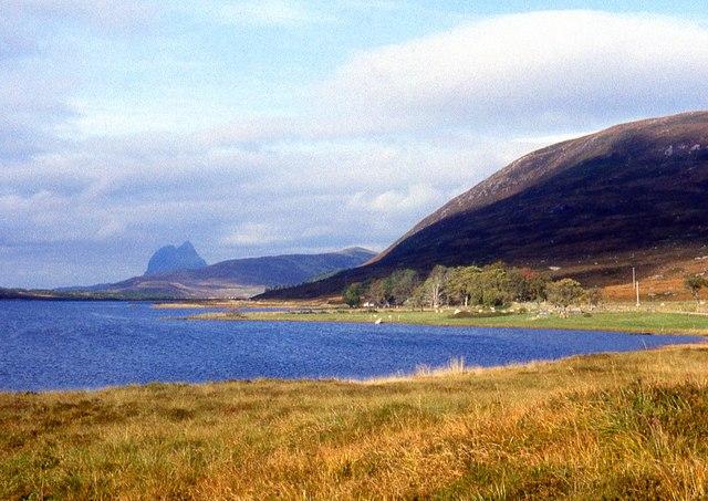 Loch Borralan and Suilven