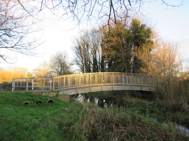 Bridge over the River Wandle near St Helier