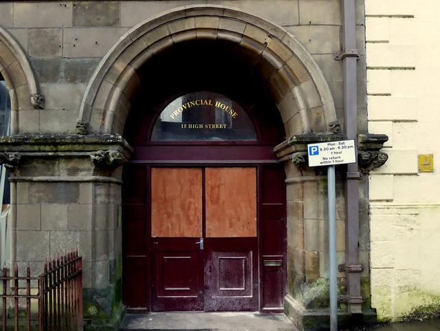 Entrance, Provincial House, High Street, Omagh