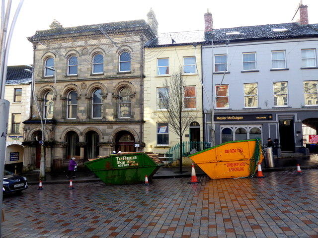 Skips, High Street, Omagh
