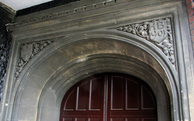 The Great Hospital - Birkbeck Hall (entrance detail)