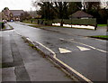 SO6202 : Templeway West speed bump, Lydney by Jaggery